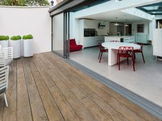 Millboard Weathered Oak Deck Boards