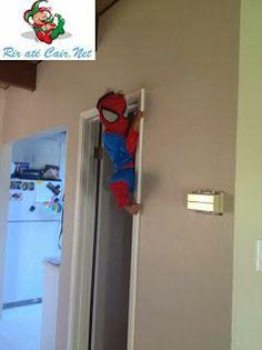 O Verdadeiro Homem-Aranha   The Real Spiderman   Rir até Cair