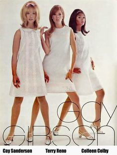 K Club Special (Part Kathy and Cay! High School Fashion, 60s And 70s Fashion, Retro Fashion, Vintage Fashion, 1960s Dresses, Vintage 1950s Dresses, Vintage Outfits, Vintage Clothing, Colleen Corby