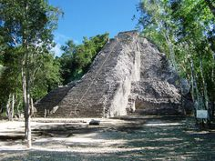 Climbed to the top with my daughter!! Coba is a beautiful place, so much history...mexico