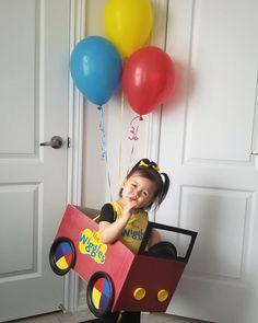Wiggles Cake, Wiggles Party, Wiggles Birthday, The Wiggles, Third Birthday, 3rd Birthday Parties, Diy Birthday, Birthday Ideas, Car Costume
