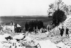 Its people dead or in SS custody, Nazis blow up Lidice's buildings; they mean to erase village from maps  history.