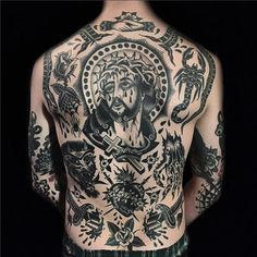 Full back tattoos, or backpieces as we say in the industry, are impressive pieces of art. The biggest area of real estate is you back when it comes to getting ink and it provides a wonderful canvas for tattooers to cover with amazing works of tattoo art. While some people get tattoos on their back when they are just starting out having a complete cohesive back tattoo done by one tattoo artist is a statement piece to say the least. The one problem to the wearer of a back tattoo: they can't…