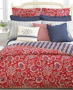 Lauren Ralph Lauren Bedding, Villa Martine King Duvet Cover - Duvet Covers - Bed & Bath - Macys