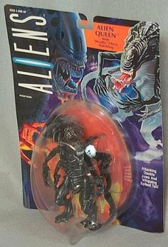 Aliens Alien Queen with Deadly Chest-Hatchling Action figure by Kenner. $38.00. alien movie figure. aliens toy. aliens movie figure. Six inch action figure. Manufactured in 1992. This figure is now condidered to be a very collectible item.