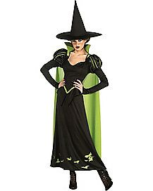 wizard of oz wicked witch adult womens costume taunt and haunt dorothy and her friends on halloween when you decide to dress in this officially licensed