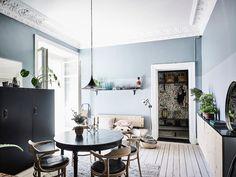Post: Dormitorio con paredes oscuras y madera natural --> blog decoración nórdica, colores oscuros piso, decoración escandinava, decoración muebles ikea, decoración oscura, Dormitorio con paredes oscuras, estilo ecléctico, estilo nórdico oscuro, madera natural, paredes oscuras