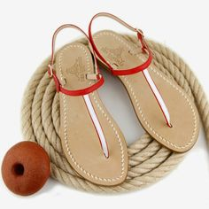 Capri sandals tailor made. DEA SANDALS collection leather bicolor Shop online shipping worldwide