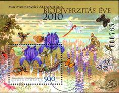 #4165 Hungary - Intl. Year of Biodiversity S/S (MNH)