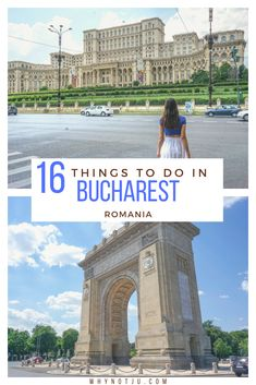 Bucharest a city filled with amazing architecture, history and plenty of activities. 16 things to do in Bucharest, and all you need to know to start planning your trip with this article! architecture Things to do in Bucharest Romania Europe Travel Tips, Travel Usa, Travel Destinations, Beach Travel, Travel Packing, Budget Travel, Travel Guide, European Destination, European Travel