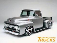 Classic custom Chevy trucks