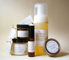HGO Hope Gillerman Organics Lab Skin Care Line Set