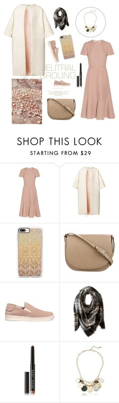 """Untitled #531"" by mariaac2 ❤ liked on Polyvore featuring Elie Saab, Valentino, Esme Vie, Casetify, CÉLINE, Pedro García, Steve Madden, Bobbi Brown Cosmetics and Robert Lee Morris"