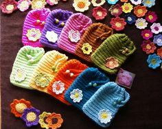 bolsas para telemóvel em crochet