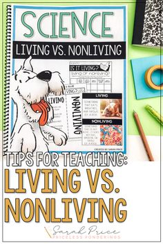 Take the stress out of planning your living and nonliving activities for kids with these fun science worksheets for second grade. Living And Nonliving, Second Grade Science, Science Worksheets, Stressed Out, Activities For Kids, Teaching, How To Plan, Children Activities, Kid Activities