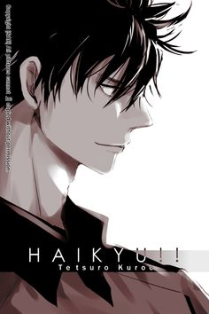 Tetsuro Kuroo | Haikyuu! | ♤ #anime ♤ | #fictional boys with messy black hair that completely destroyed my life