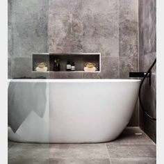 Concrete-finish tile