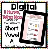 DIGITAL I Have Who Has Classroom Games: Short Vowels Bundle | TpT Bring Your Own Device, Classroom Games, Google Classroom, Back To School Night, Short Vowels, Kindergarten Lessons, Teaching Tips, Teacher Newsletter, Learning Activities