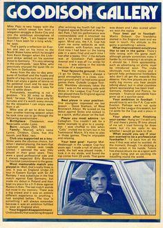 Mike Pejic, Everton 1977-78
