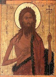 Saint John the Baptist icon