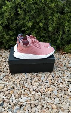 831177469 Adidas Originals W Womens NMD R2 PK Boost Raw Pink Heather Grey BY8782 size  8