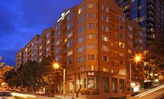 Homewood Suites By Hilton Seattle-conv Ctr-pike Street, Wa Hotel - Hotel Exterior Night
