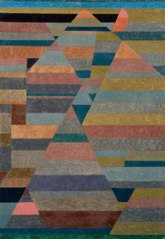 'Nekropolis' (1929) by Paul Klee