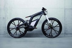 Proto-Audi e-bike Worthersee, green transportation, electric bike, lithium-ion battery, carbon fiber bike