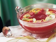 Add gingery twist to fruit punch made with cranberry juice and apple cider – an easy drink that's ready in just five minutes.