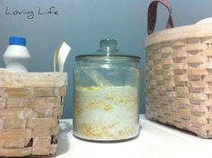 Loving Life: DIY Laundry Detergent (Dry)