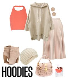 """""""Hoodie"""" by kimmmeo ❤ liked on Polyvore featuring moda, Elizabeth and James, Topshop, Chinese Laundry, Lancôme, Accessorize, Michael Kors, women's clothing, women's fashion y women"""