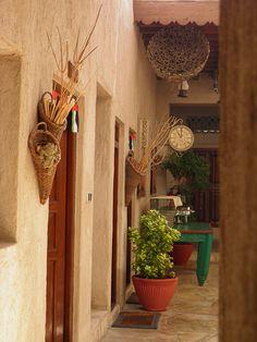 A glimpse of the past - Bastakiya, Dubai- United Arab Emirates