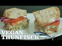 THUNFISCHSALAT SANDWICH | VEGAN THUNFISCH REZEPT - YouTube