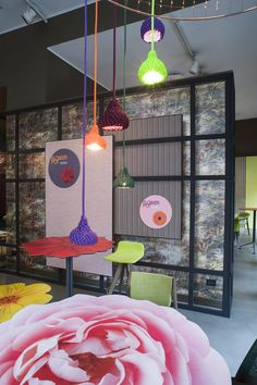 FLOWER POT | Potocco Event @ Big Apple - Potocco Agra Flower Table, Nest Lamps & Chairs
