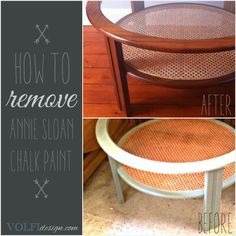 VOLFIdesign: How to remove Annie Sloan chalk paint