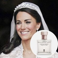 kate-middleton wore this on her wedding day-perfume-white-gardenia-petals Perfume Versace, White Gardenia, Perfume Recipes, Lady Diana, Kate Middleton, Hair And Nails, Beauty Hacks, Perfume Bottles, Wedding Day