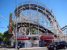 Coney Island , cyclone , new york city landmark #AerieFNO