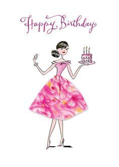Birthday Ecards for Females - Geburtstag Happy Birthday Celebration, Happy Birthday Wishes Cards, Happy Birthday Girls, Happy Birthday Pictures, Birthday Blessings, Happy Birthday Quotes, Birthday Fun, Birthday Cards, Birthday Text