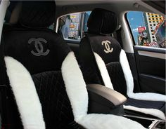 Buy Wholesale Luxury Diamond Chanel Universal Automobile Velvet Wool Car Seat Cover Cushion 10pcs Sets - Black from Chinese Wholesaler - hibay.gd.cn