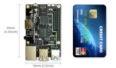 ROCK64 - 4K/60fps HDR Media Board powered by 64-Bit Quad-Core ARM Cortex A53 Processor and support up to 4GB 1600MHz LPDDR3 memory...