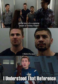 Arrow season 5 TMNT humor