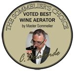 Christopher Delalonde, Master Sommelier and winner of the UK Sommelier of the Year award recommends WineWeaver Wine Aerators