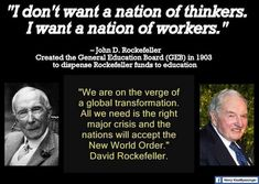 WE DON'T WANT AN ELITE OF GREEDY AND CONTROLLING MANIPULATORS, WE WANT A FREE…