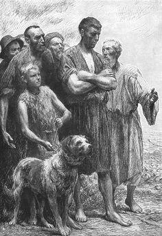 Eugène Burnand |The Wicked Vinedressers Matthew 21:33-41