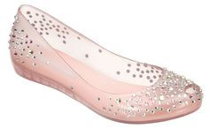 Ultragirl J. Maskrey : Melissa Shoes Check out the website for more. Melissa Shoes, Open Toe Flat Shoes, Champagne Shoes, Sparkly Flats, Off White Shoes, Pink Shoes, Cinderella Shoes, Princess Shoes, Disney Princess
