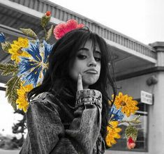camila cabelo flowers
