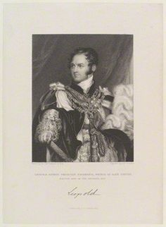 Husband of 1st wife Princess Charlotte (1796–1817) & 2nd wife Louise of Orléans (1812–1850). Leopold I (1790-1865) King of the Belgians by Sir Thomas Lawrence. Leopold I arranged the marriage of his niece Queen Victoria (1819-1901) the daughter of his sister Princess Victoria of Saxe-Coburg-Saalfeld (1786-1861) to his nephew Prince Albert of Saxe-Coburg & Gotha (1819–1861) son of his brother Ernest I Duke of Saxe-Coburg and Gotha (1784–1844).