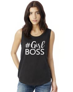 Girl Boss Tank Top. Girl Boss Shirt. Wife Mom Boss. Goal Digger. Maker. Entrepreneur. Boss Lady. Blogger. Boss Babe Coach. Gift for Her. #girlboss #bosslady #bossbabe #hustle #entrepreneur #coach #wifemomboss #fitness #workout #workitwear