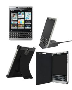 BlackBerry Passport Silver Edition with Free Accessories