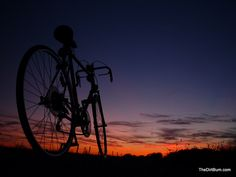 Let's bike into the sunset together #bike #sunset #paradise